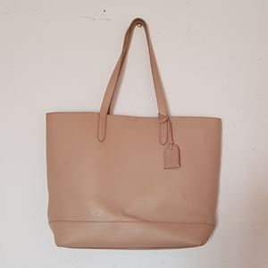 Cole haan pebbled leather large tote.